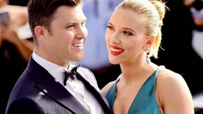Scarlett Johansson married Comedian fiance Colin Jost
